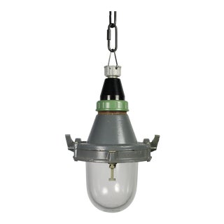 Soviet Era Industrial Pendant Light