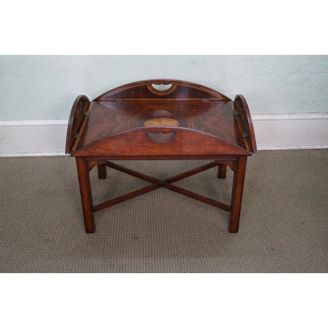 Jonathan Charles Chippendale Butler's Coffee Table