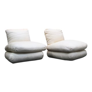 Donghia Fireplace Chairs - Pair
