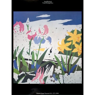 1990 Andy Warhol Do It Yourself (Flowers) Poster