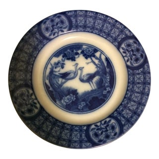 "Johnson Bros. ""Mongolia"" Flow Blue Dessert Plate"