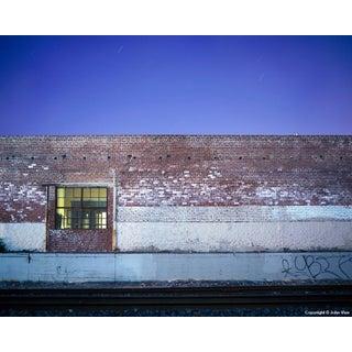 Brick Wall - Night Photograph by John Vias