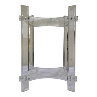 Charles Hollis Jones Lucite Dining Table Base