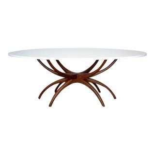 Mid-Century Spider Leg Dining Table