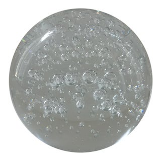 Glass Orb Paperweight