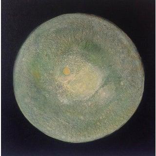 """""""Melon Moon"""" Original Abstract Painting"""
