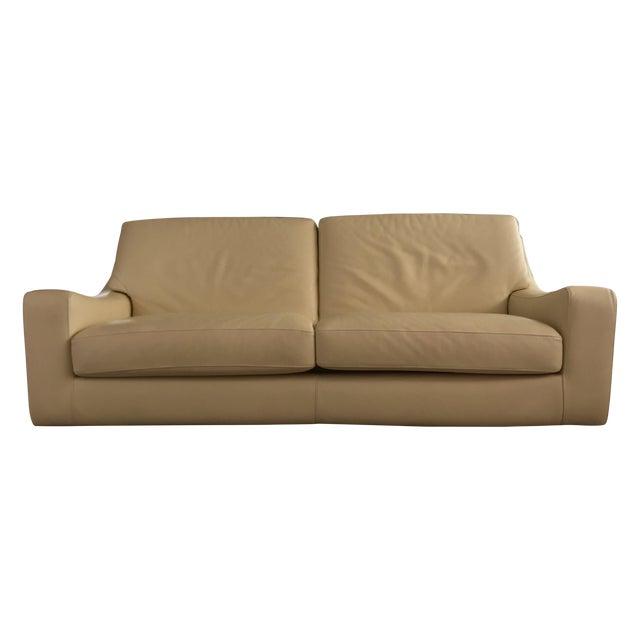 Roche Bobois Leather Sofa Sleeper - Image 1 of 9