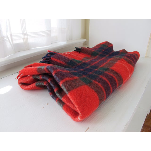 Classic Plaid Wool Blanket - Image 2 of 5