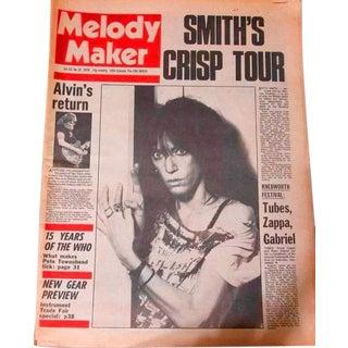 Vintage Original Patti Smith Melody Maker Magazine