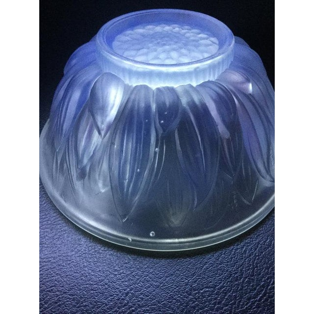 Image of Art Deco Etling Glass Opalescent Bowl