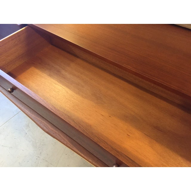 Mexican Modernist Walnut Credenza - Image 7 of 8