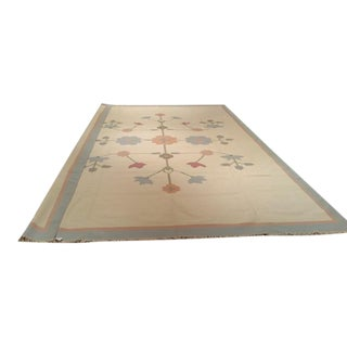 Modern Contemporary Dhurrie Hand Made Rug - 12′ × 18′