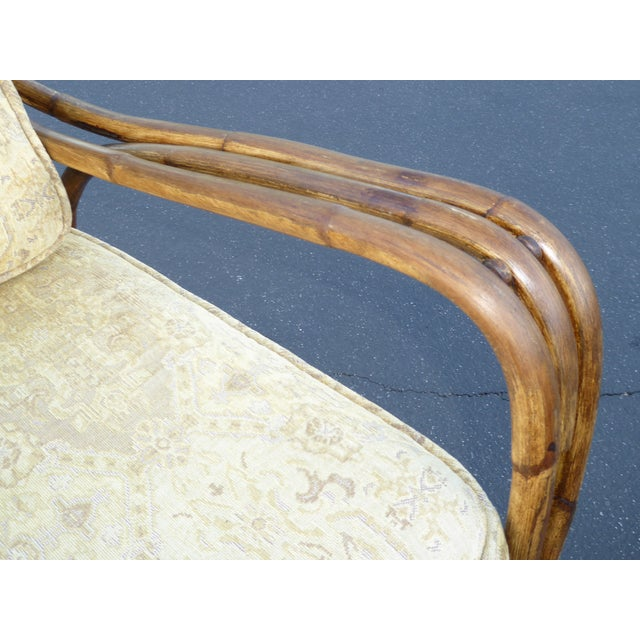 Vintage Rattan Accent Arm Chair - Image 7 of 11
