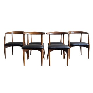 Lawrence Peabody Sculptural Dining Chairs - Set of 6