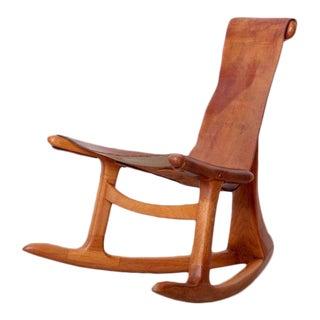 Lawrence Hunter Studio Rocking Chair, USA, circa 1965