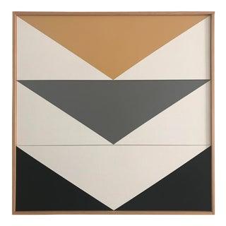 "Jason Trotter Original Acrylic Painting ""Arrow Down Triptych JET0493"""