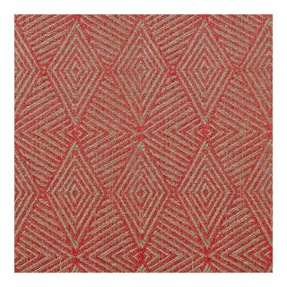 Triad Cinnabar Red Fabric, Multiple Yardage Available