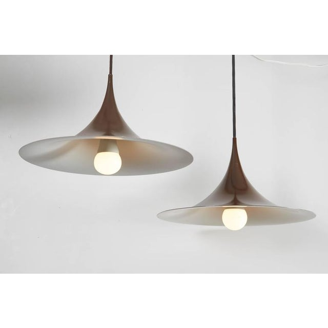 Semi Pendant Lamps by Claus Bonderup & Thorsten Thorup, Pair - Image 4 of 5