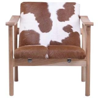 Hans Wegner Cowhide Armchair / Brand New