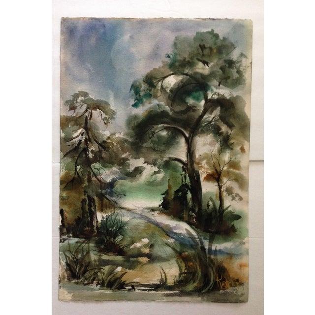Edna Leventhal Kessler Watercolor - Image 2 of 5