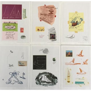 "Claes Oldenburg ""Notes"" Complete Collection - Set of 12"