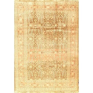 "Pasargad NY Semi-Antique Turkish Herati Design Hand-Knotted Rug - 5'10"" x 8'2"""