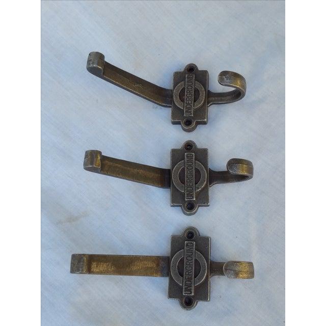 Image of London Underground Hooks - Set of 3