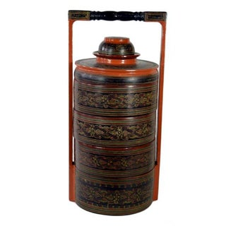 Antique Burmese Food Basket