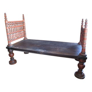Antique Indian Bed