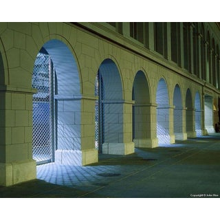 """Ferry Building Arches,"" Night Photo by John Vias"