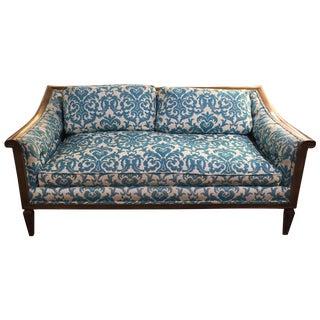 Mid-Century Damask Love Seat