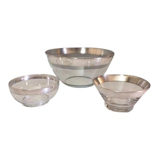Mid-Century Dorothy Thorpe Serving Bowls - 3 Piece