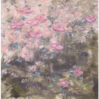 """True Colors"" Original Acrylic Flower Painting"