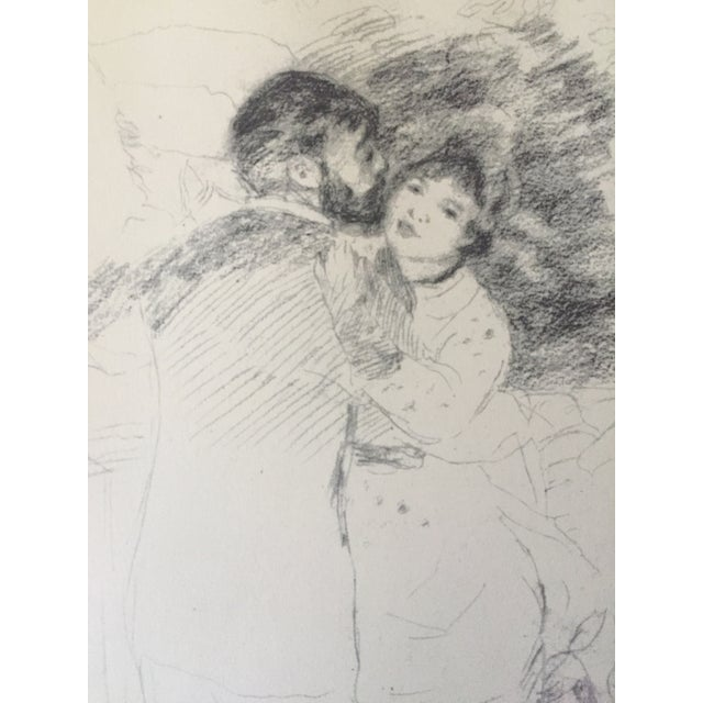 "Vintage Renoir Reprint ""Dance at Chatou"" - Image 4 of 7"