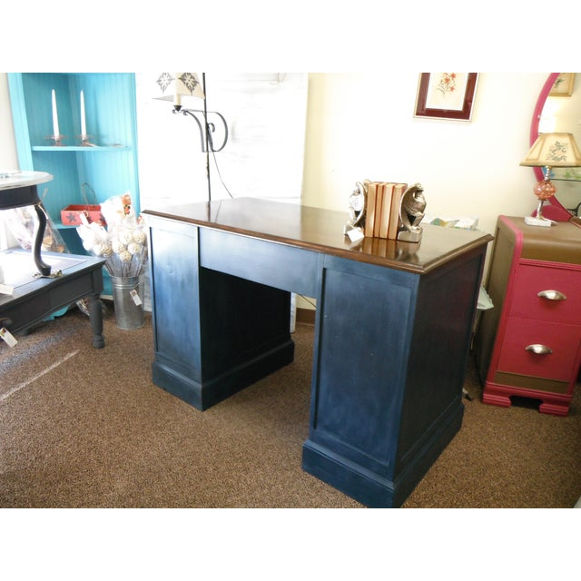 Image of Antique Painted Federal Style Desk