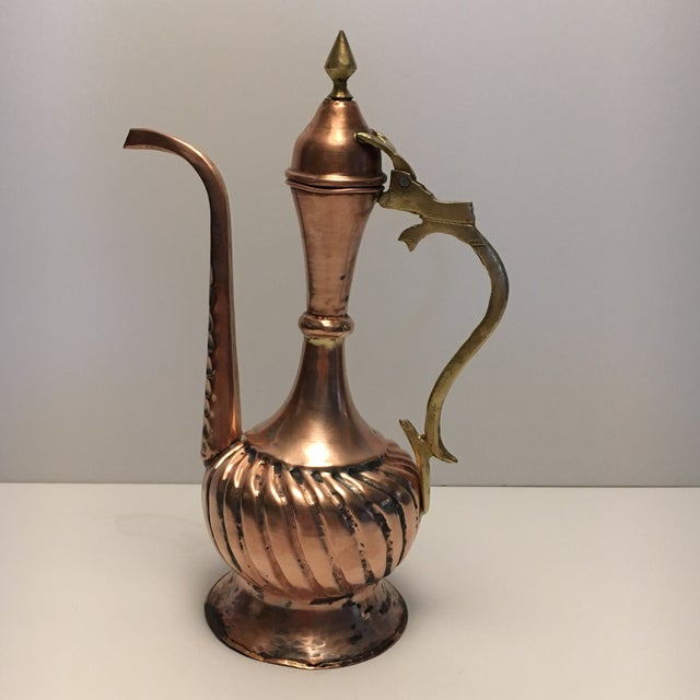 Antique Copper Amp Brass Pitcher Chairish