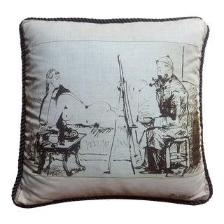"""Picasso"" Decorative Pillow"