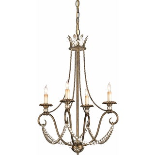 """Currey & Company """"Anise"""" Chandelier - 4 Arm"""