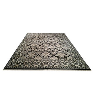 9′ × 12′ Traditional Hand Made Knotted Rug - Size Cat 9x12