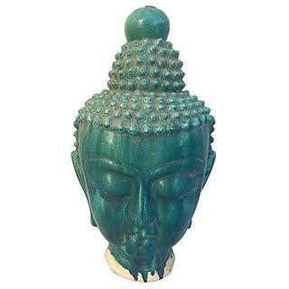 Turquoise Chinese Buddha Head