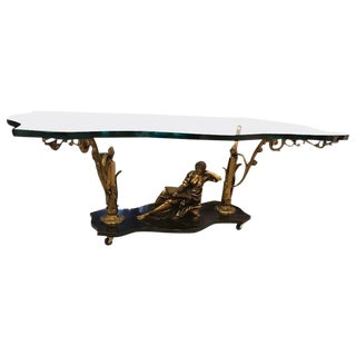 French Art Nouveau or Art Deco Coffee Table