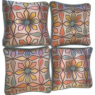 Pinwheel Pillows - Set of 4