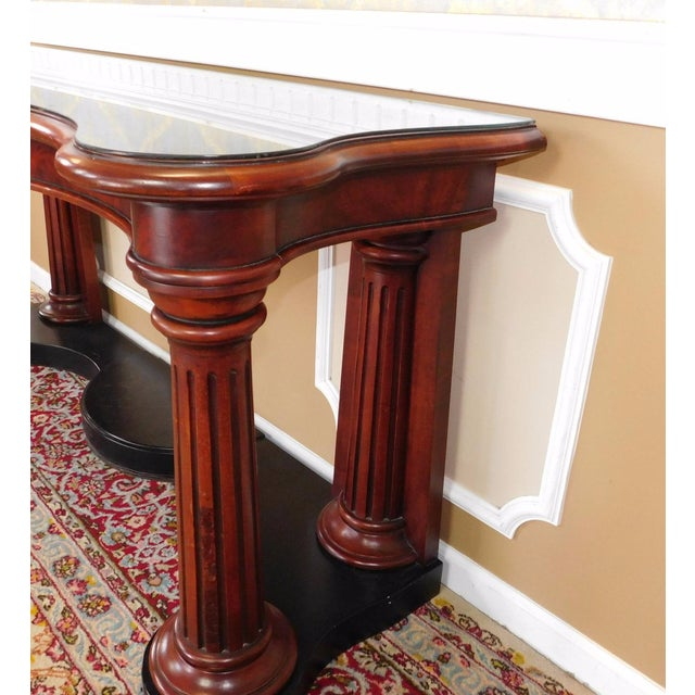 Ralph Lauren Home Collection Mahogany Console - Image 5 of 6