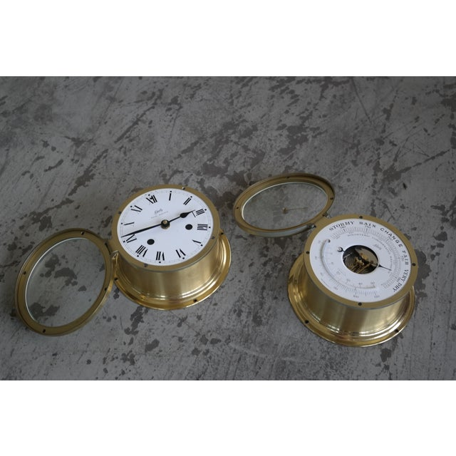 Schatz Maritime Clock and Weather Station - Image 5 of 7