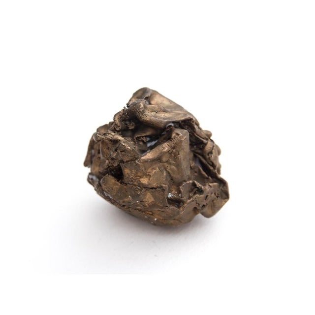 Image of Clif Claycomb Bronze Crumpled Paper Sculpture