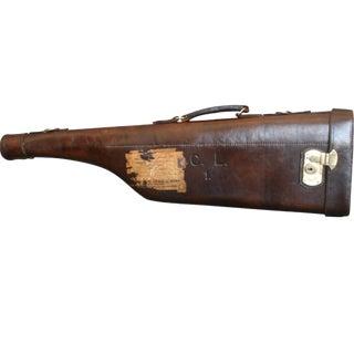 English Leather Leg of Mutton Gun Case