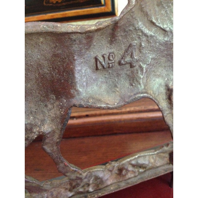 Antique Cast Iron Horse Molds - a Pair - Image 6 of 7
