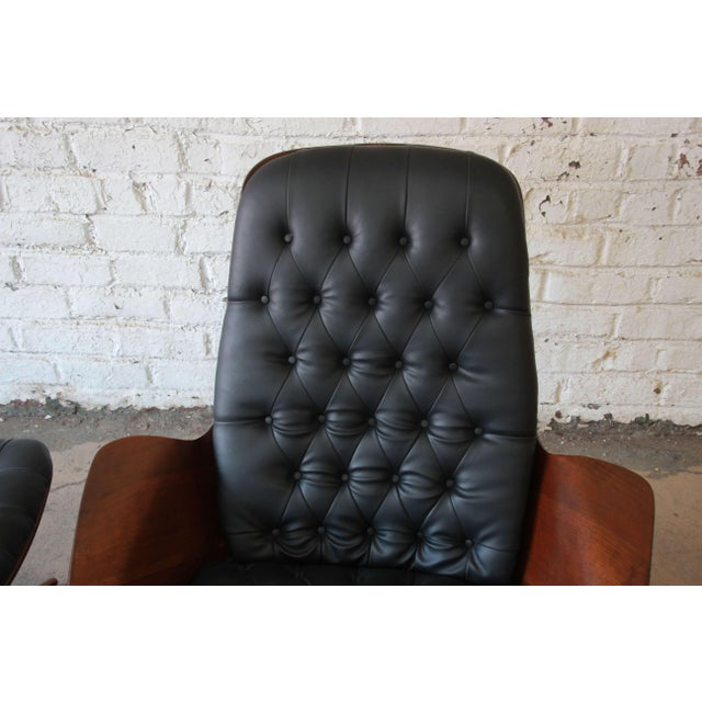 """George Mulhauser for Plycraft """"Mr. Chair"""" and Ottoman - Image 5 of 10"""