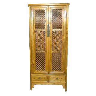 Antique Chinese Carved Armoire