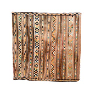 Vintage Square Kilim Rug